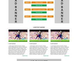 Nro 10 kilpailuun Create one page PSD Design käyttäjältä Vavika