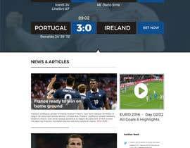 Nro 6 kilpailuun Create one page PSD Design käyttäjältä semir1990