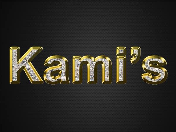 Inscrição nº 65 do Concurso para Design a Logo for  Kami's