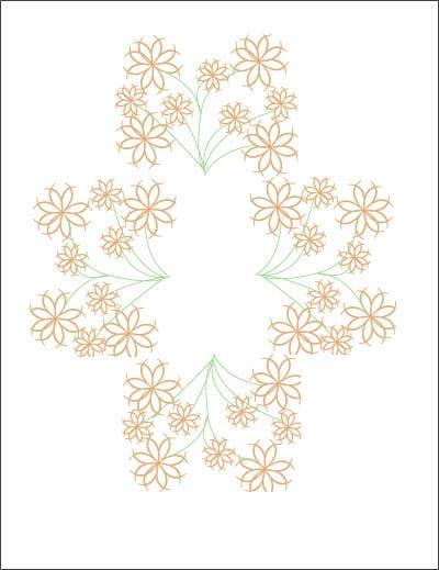 Inscrição nº 29 do Concurso para Wall decal design - Trees and Flowers
