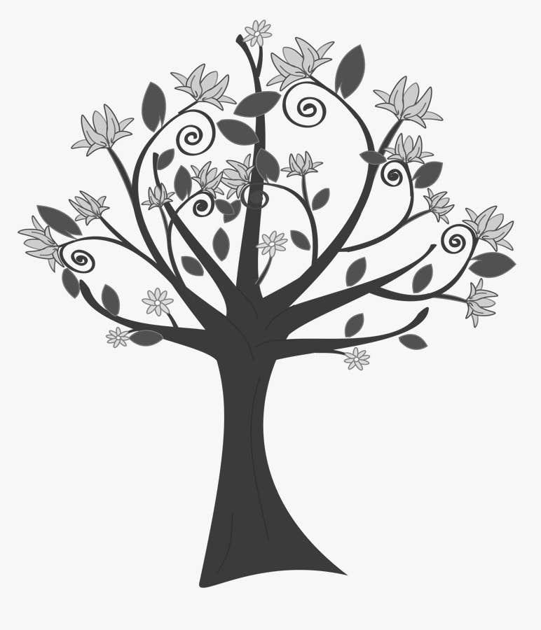 Inscrição nº 25 do Concurso para Wall decal design - Trees and Flowers