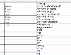 nº 5 pour English to Bengali translation project par Hasinul