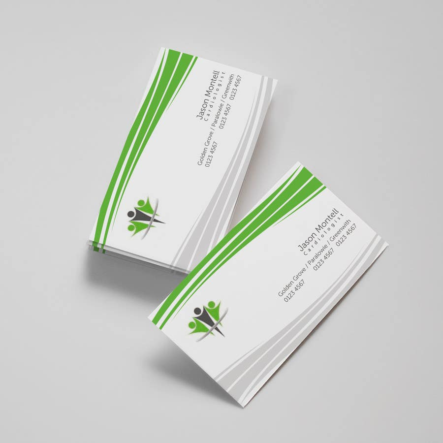 #46 for Medical Practice Business Card Design by aries000
