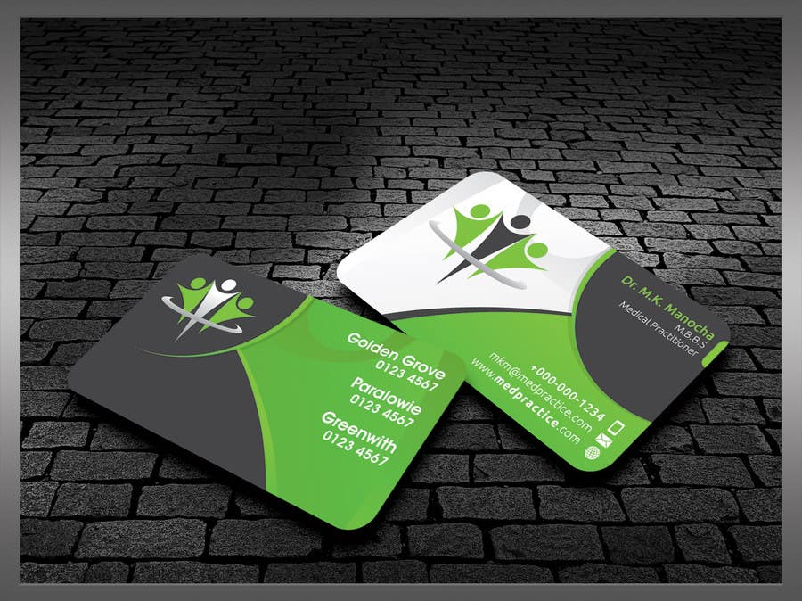#48 for Medical Practice Business Card Design by kreativedhir