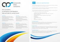 Contest Entry #18 for Design a template for our corporate publications
