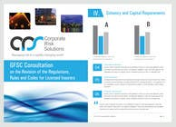 Contest Entry #33 for Design a template for our corporate publications
