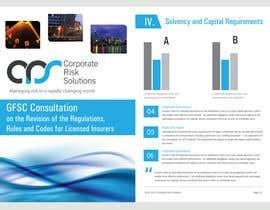 #33 for Design a template for our corporate publications by bluedartdesigner