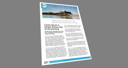 #31 cho Design a template for our corporate publications bởi designreaktor