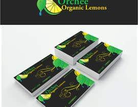 Nro 9 kilpailuun Logo & business card for selling lemons! käyttäjältä gorantadic