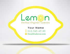 Nro 30 kilpailuun Logo & business card for selling lemons! käyttäjältä elkarmani
