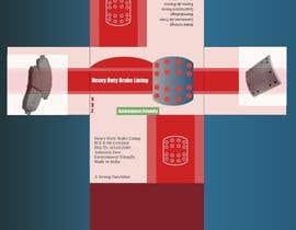 Nro 18 kilpailuun Designing packaging box for brake liners käyttäjältä farkasbenj