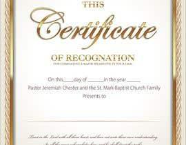 Nro 16 kilpailuun Graduation Certificate käyttäjältä naythontio