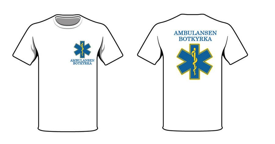 "Proposition n°34 du concours Designa en t-shirt for ""Ambulansen Botkyrka"""