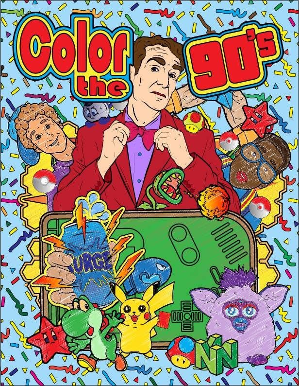 Kilpailutyö #33 kilpailussa Need Coloring Book Cover