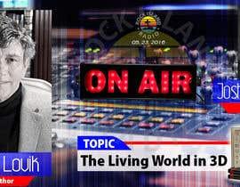 Nro 24 kilpailuun Create Radio Interview Background PSD käyttäjältä therichmediaGFX