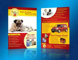 #16 for Design a Flyer for our Petfood Business by linokvarghese