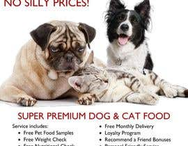 #30 for Design a Flyer for our Petfood Business by skoay