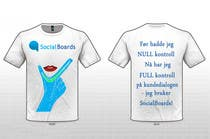 Graphic Design Entri Peraduan #30 for T-shirt Design for SocialBoards