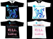 Graphic Design Entri Peraduan #29 for T-shirt Design for SocialBoards