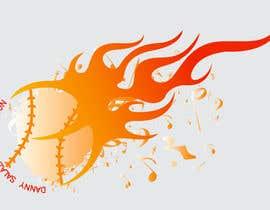 dgonzales83 tarafından Music + Baseball Logo için no 5