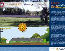 nº 5 pour Graphic Design for Solar Poster par corpuzmanolito