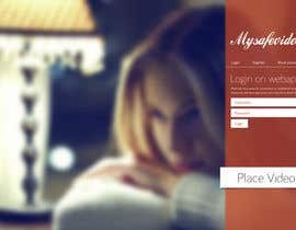 #15 for Design a Website Mockup for 'My safe video' - home page af AndyBag