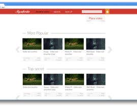 #14 para Design a Website Mockup for 'My safe video' - browse page por AndyBag