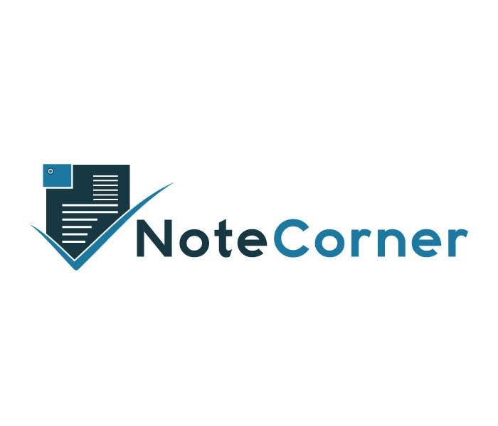 Proposition n°                                        22                                      du concours                                         Design a Logo for NoteCorner.com