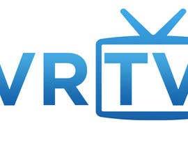 "rizalarsad tarafından Design text as well as icon, logo for ""VR-TV"" için no 16"