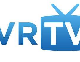 "rizalarsad tarafından Design text as well as icon, logo for ""VR-TV"" için no 26"