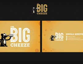 #7 for Design some Business Cards for the Big Cheeze food truck af CreativeWebLab