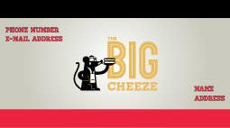 Proposition n°2 du concours Design some Business Cards for the Big Cheeze food truck
