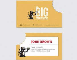 #14 for Design some Business Cards for the Big Cheeze food truck af eduardolfranca