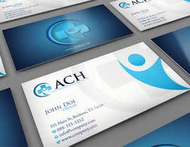 #28 untuk Design some Business Cards for ACH oleh midget