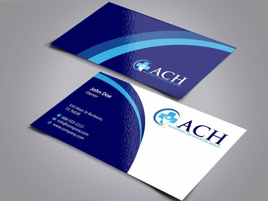 Inscrição nº 8 do Concurso para Design some Business Cards for ACH