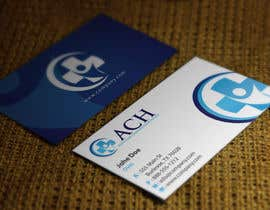 #19 untuk Design some Business Cards for ACH oleh HammyHS