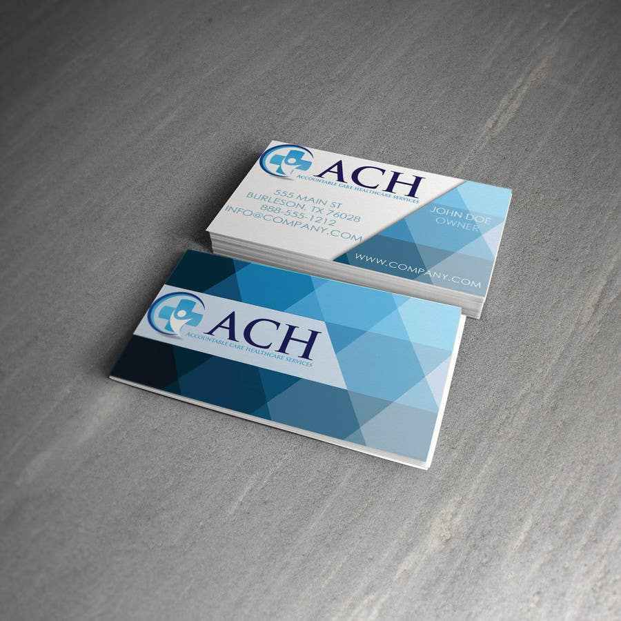 Proposition n°45 du concours Design some Business Cards for ACH