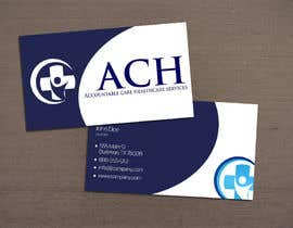 #46 untuk Design some Business Cards for ACH oleh KostadinDino