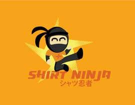 Nro 18 kilpailuun Develop SHIRT NINJA logo / brand identity käyttäjältä JordStacey