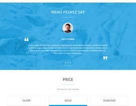 darshitzakhariya tarafından Simple elegant webpage için no 5