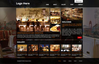 #6 for Build a Website for Bar & Nightclub Reviews by creativedesign06