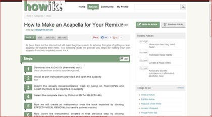 #6 for Write some Articles for howik.com to win $ + Junior Editor Position by vampyfree