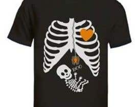#11 for Pregnant Skeleton T-shirt Design by nextstep789123
