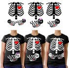 Contest Entry #1 for Pregnant Skeleton T-shirt Design