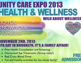 #9 for I need a flyer designed for a health and wellness expo by skoay