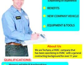 itrimmers tarafından Design a Job Wanted Ad - HVAC Service Technician için no 3