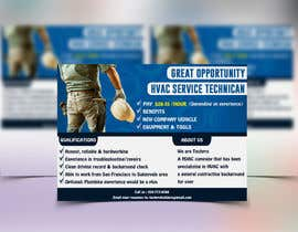 Mohamedsaa3d tarafından Design a Job Wanted Ad - HVAC Service Technician için no 8