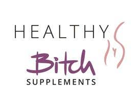 #41 untuk HEALTHY BITCH SUPPLEMENTS LOGO PACKAGE oleh nantia