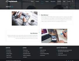Nro 41 kilpailuun Design a WordPress Website käyttäjältä nizagen