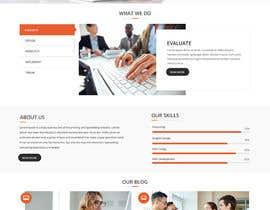 Nro 13 kilpailuun Design a WordPress Website käyttäjältä zaxsol
